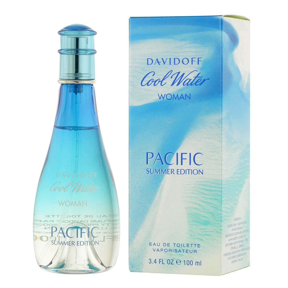 Davidoff Cool Water Woman Pacific Summer Edition EDT 100 ml W