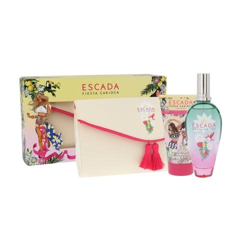 Escada Fiesta Carioca EDT 100 ml + BL 150 ml + psaníčko W