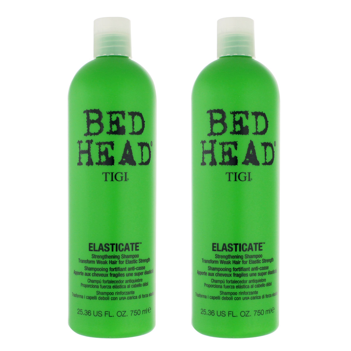 Tigi Bed Head Elasticate Strengthening Shampoo 2 x 750 ml