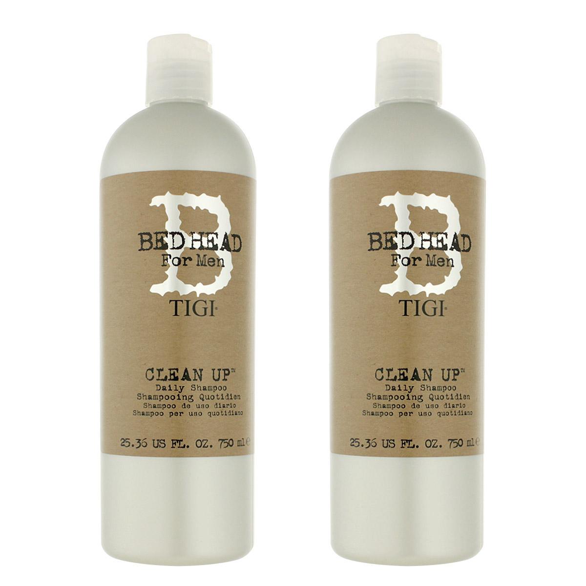 Tigi Bed Head Men Clean Up Shampoo 2 x 750 ml