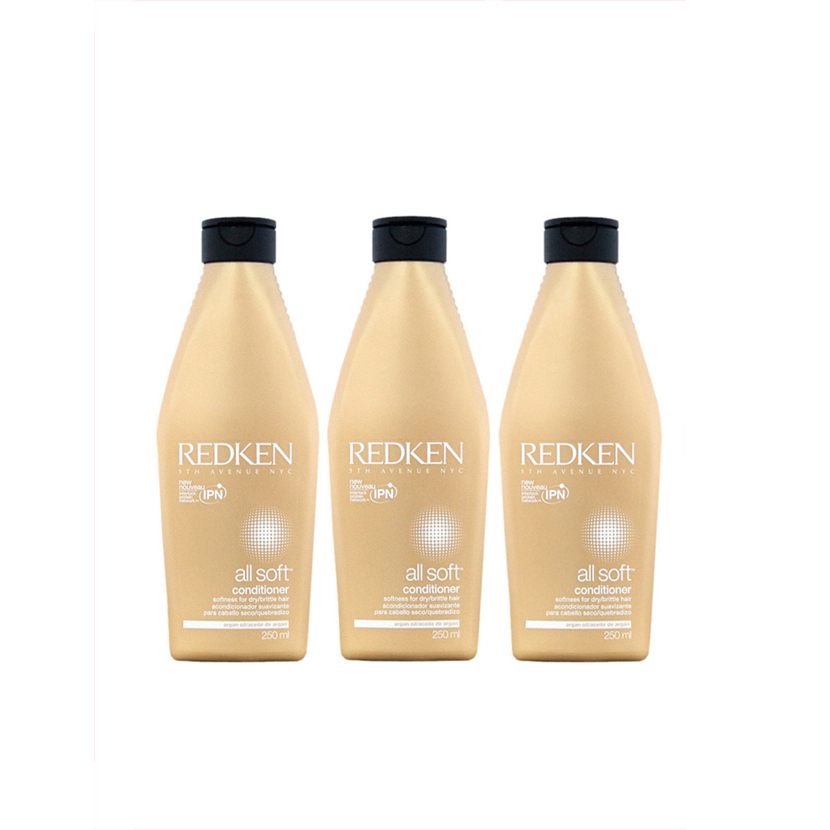 Redken All Soft Conditioner 3 x 250 ml