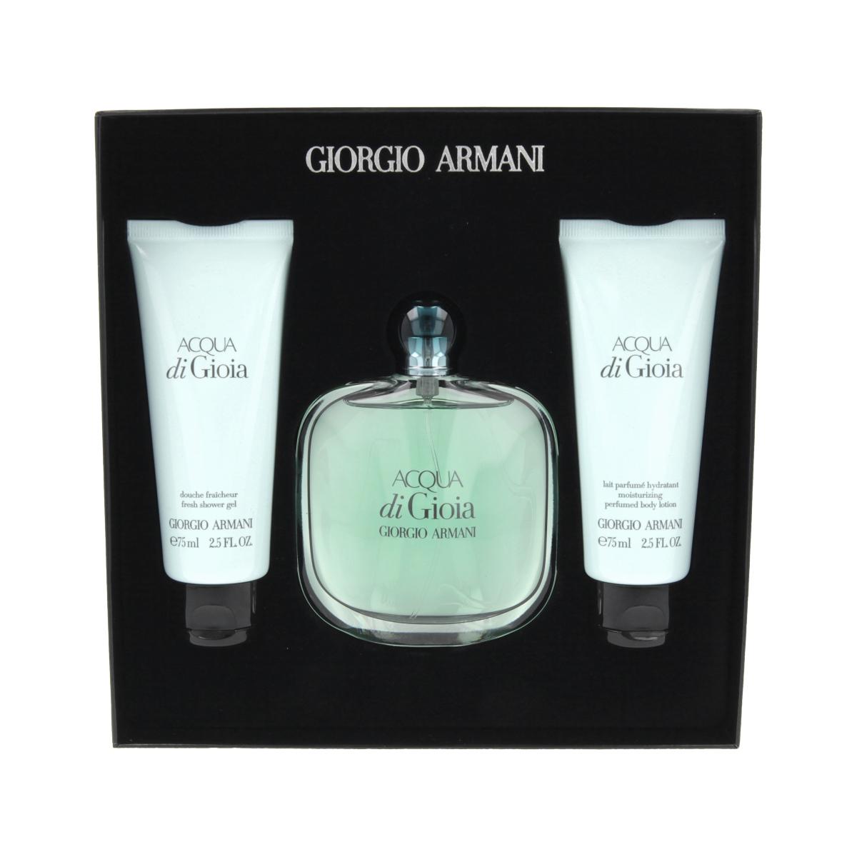 Armani Giorgio Acqua di Gioia EDP 100 ml + SG 75 ml + BL 75 ml W