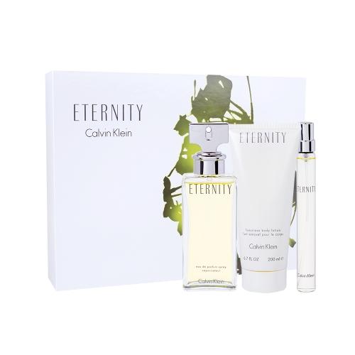 Calvin Klein Eternity for Women EDP 100 ml + EDP 10 ml + BL 200 ml W