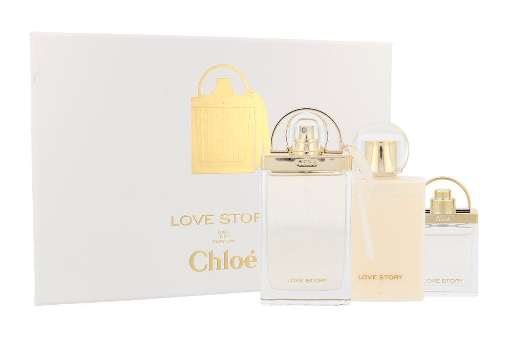 Chloe Love Story EDP 75 ml + EDP MINI 7,5 ml + BL 100 ml W