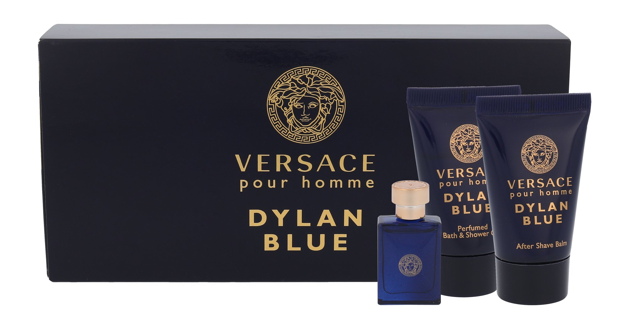 Versace Pour Homme Dylan Blue EDT MINI 5 ml + ASB 25 ml + SG 25 ml M