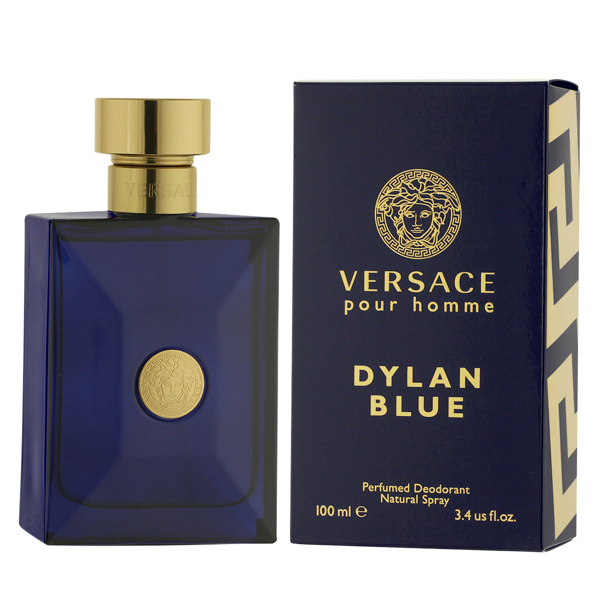 Versace Pour Homme Dylan Blue DEO ve skle 100 ml M