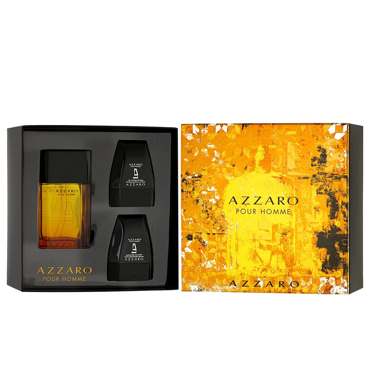 Azzaro Pour Homme EDT 100 ml + ASB 75 ml + SG 75 ml M