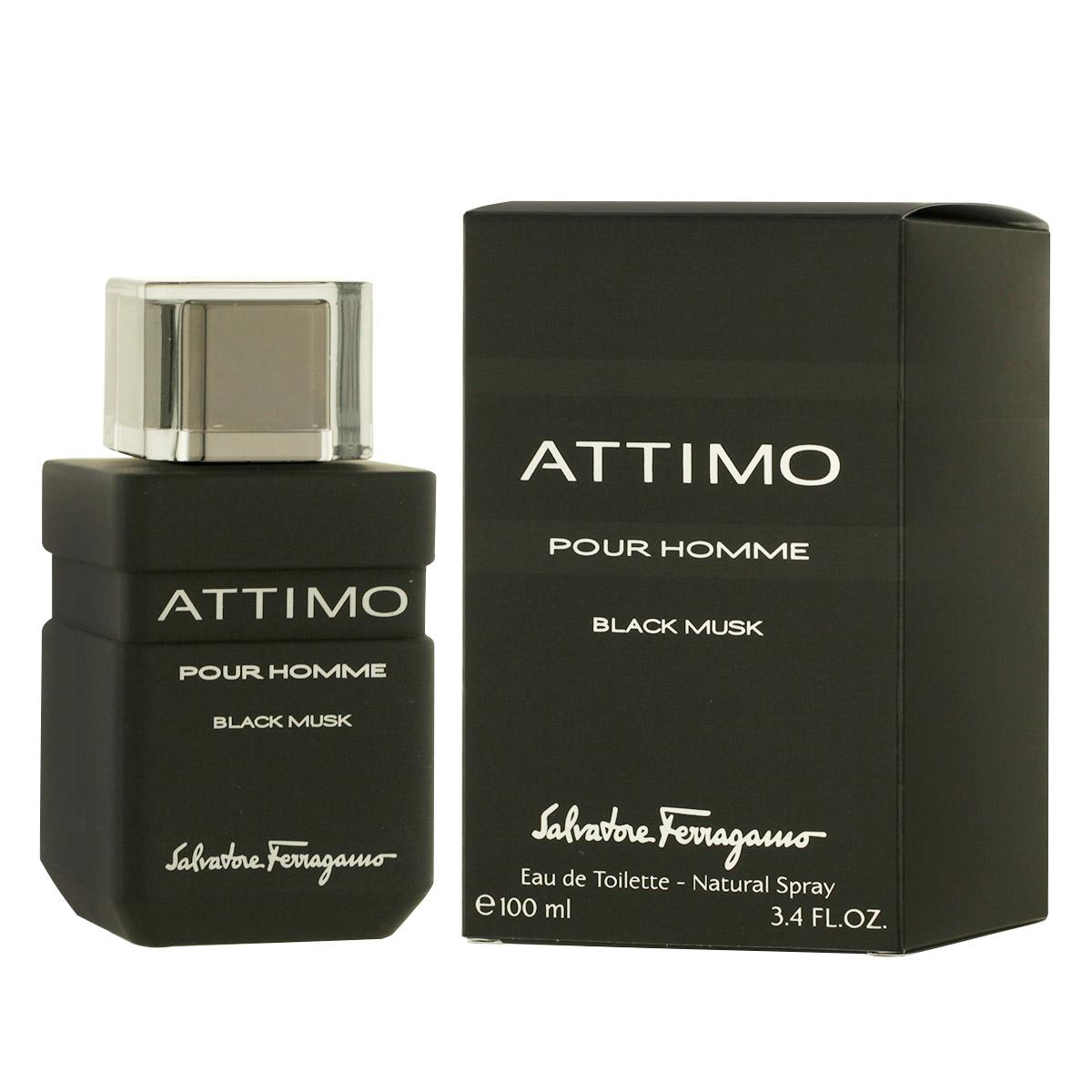 Salvatore Ferragamo Attimo Black Musk Pour Homme EDT 100 ml M