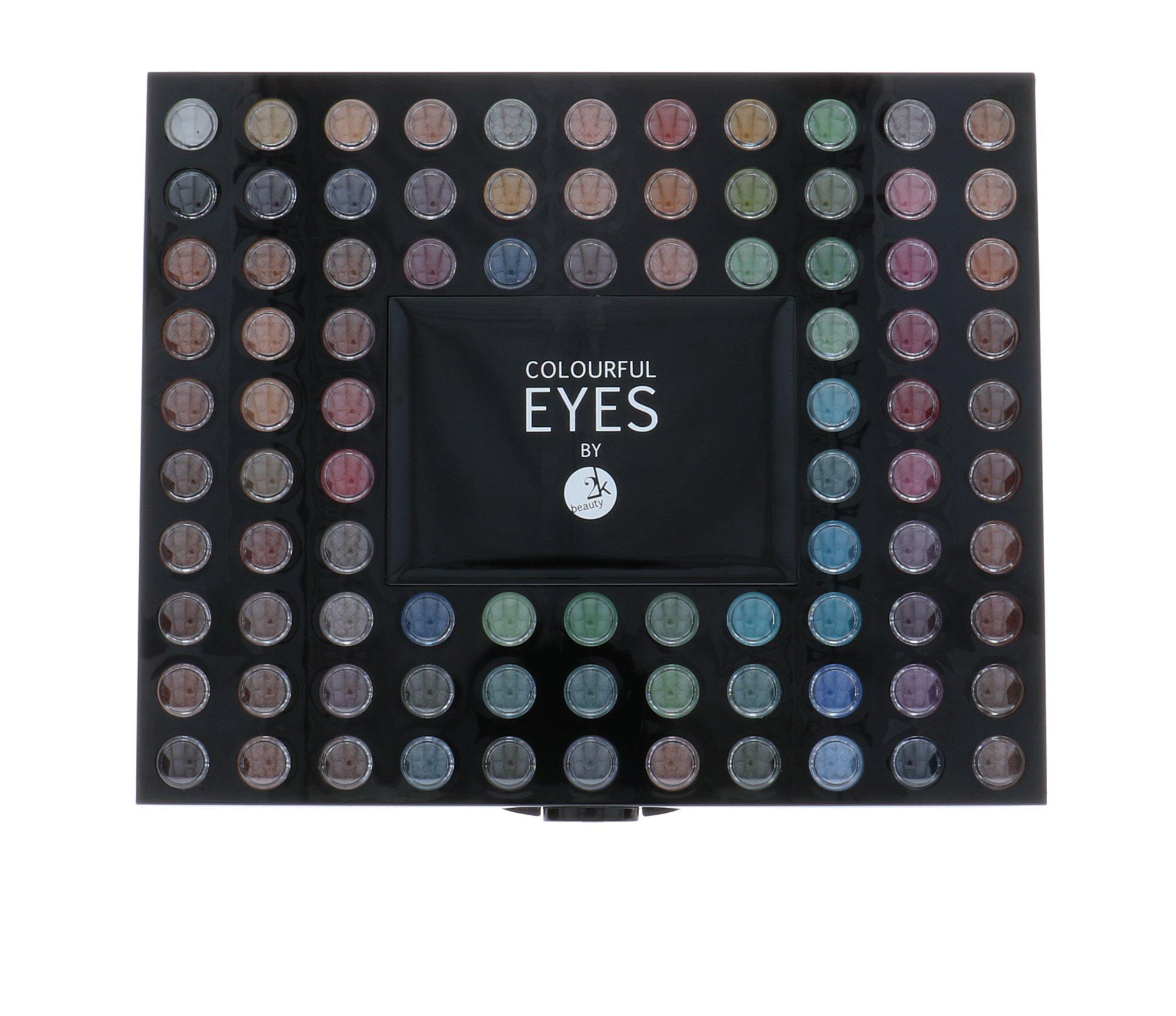 2K Colourful Eyes 98 Eye Shadow Palette 78,4 g