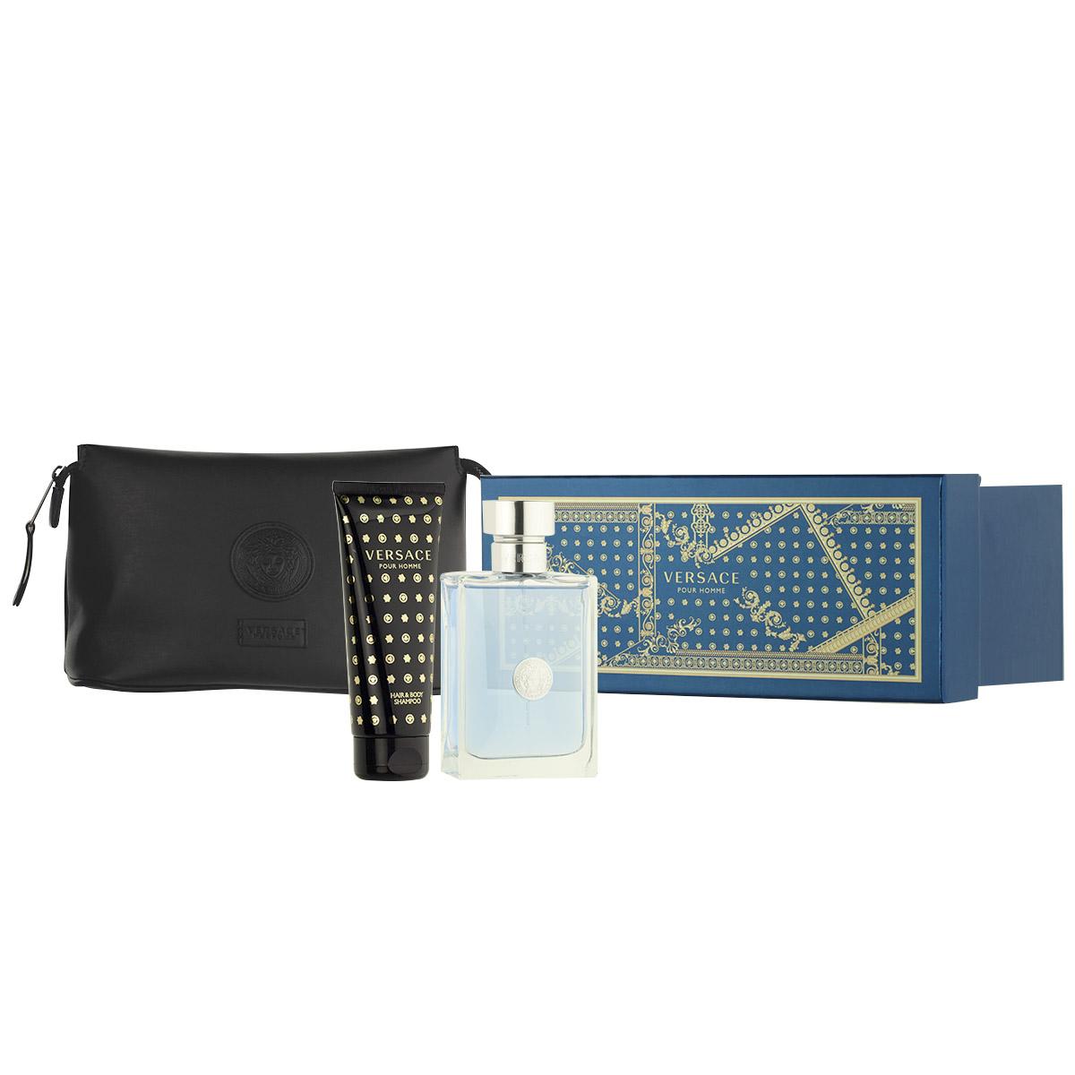 Versace Pour Homme EDT 100 ml + SG 100 ml + kosmetická taška M