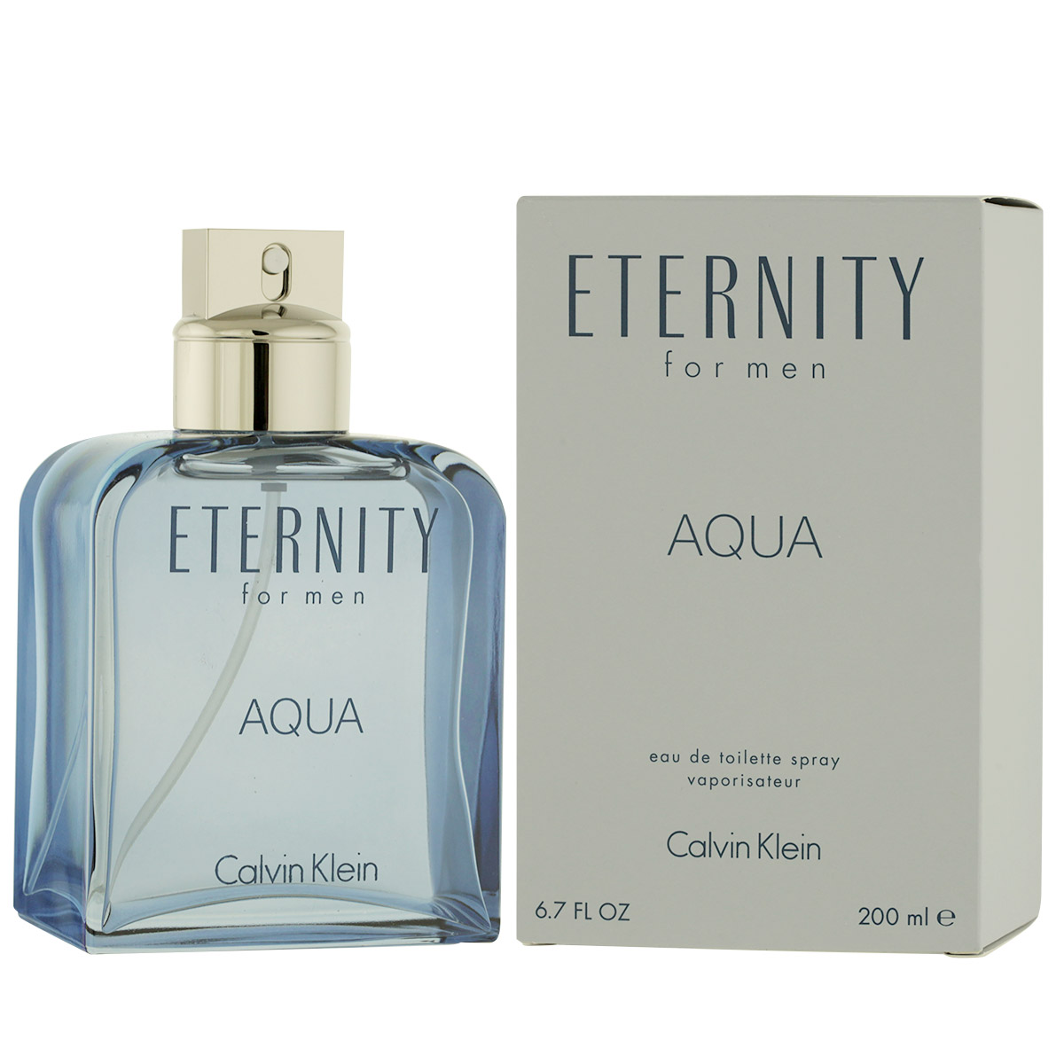 Calvin Klein Eternity Aqua for Men EDT 200 ml M