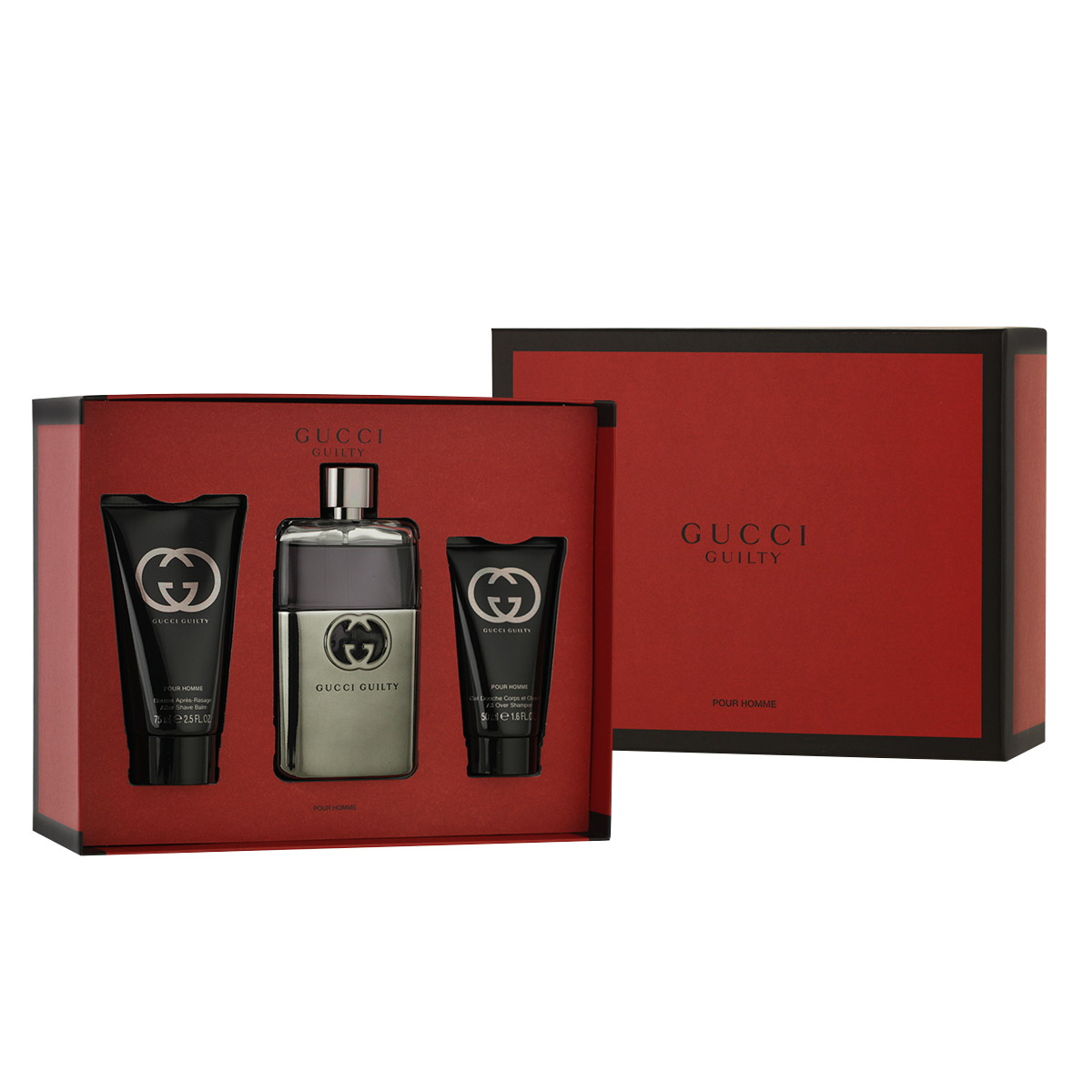Gucci Guilty Pour Homme EDT 90 ml + ASB 75 ml + SG 50 ml M
