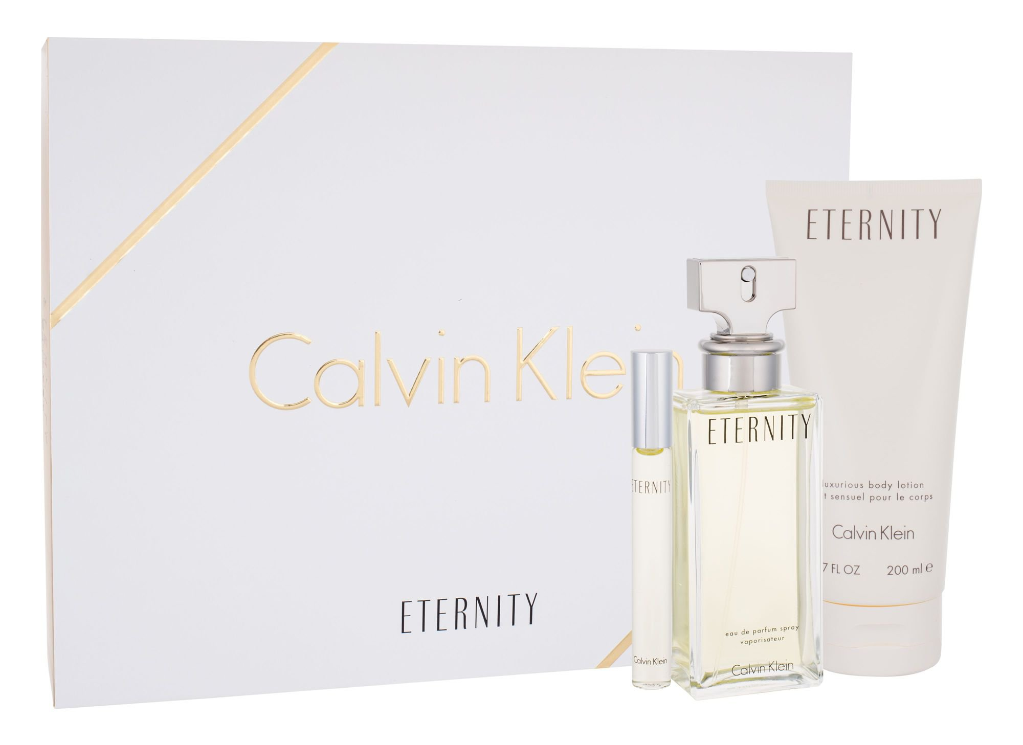 Calvin Klein Eternity for Women EDP 100 ml + EDP MINI 10 ml + BL 200 ml W
