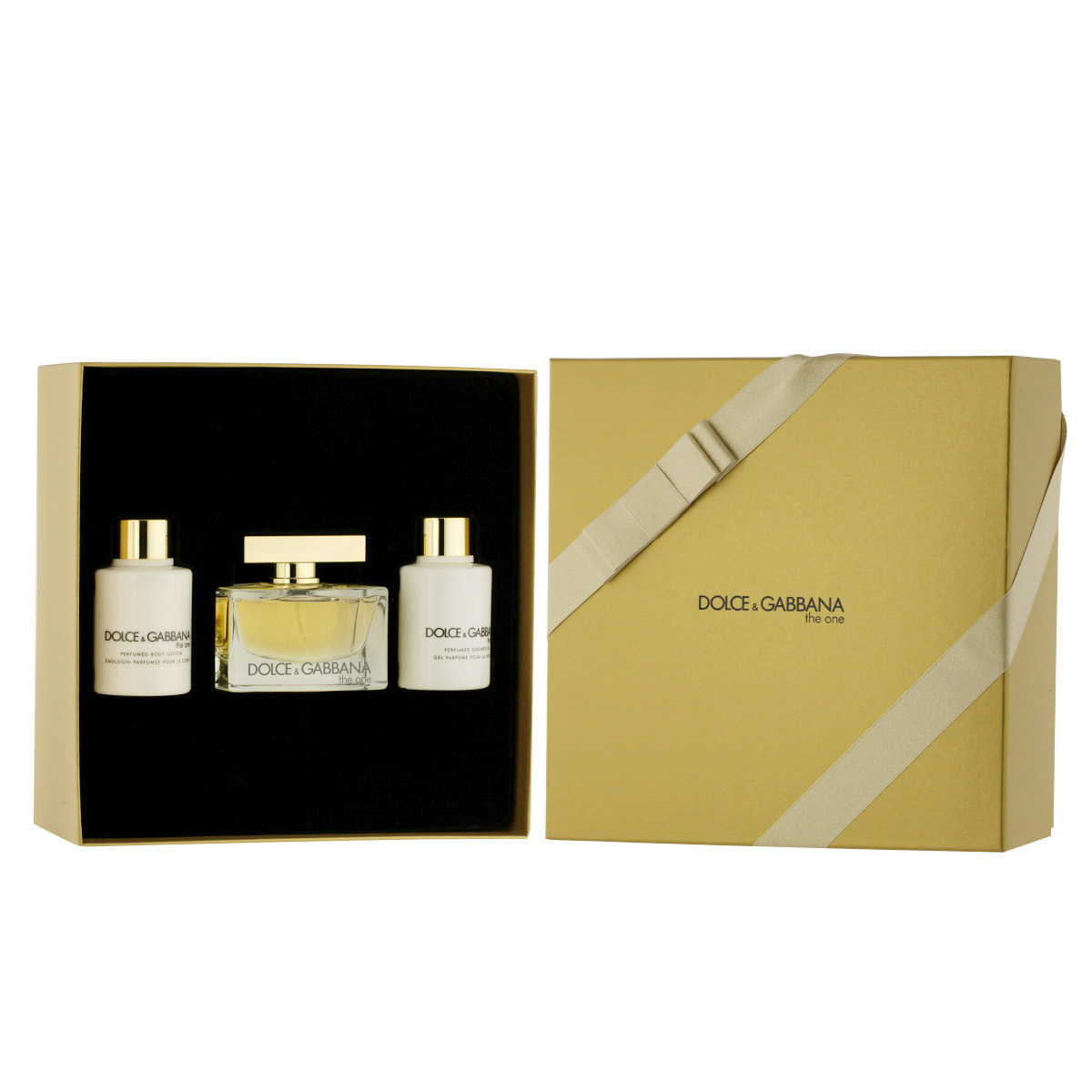 Dolce & Gabbana The One EDP 75 ml + SG 100 ml + BL 100 ml W