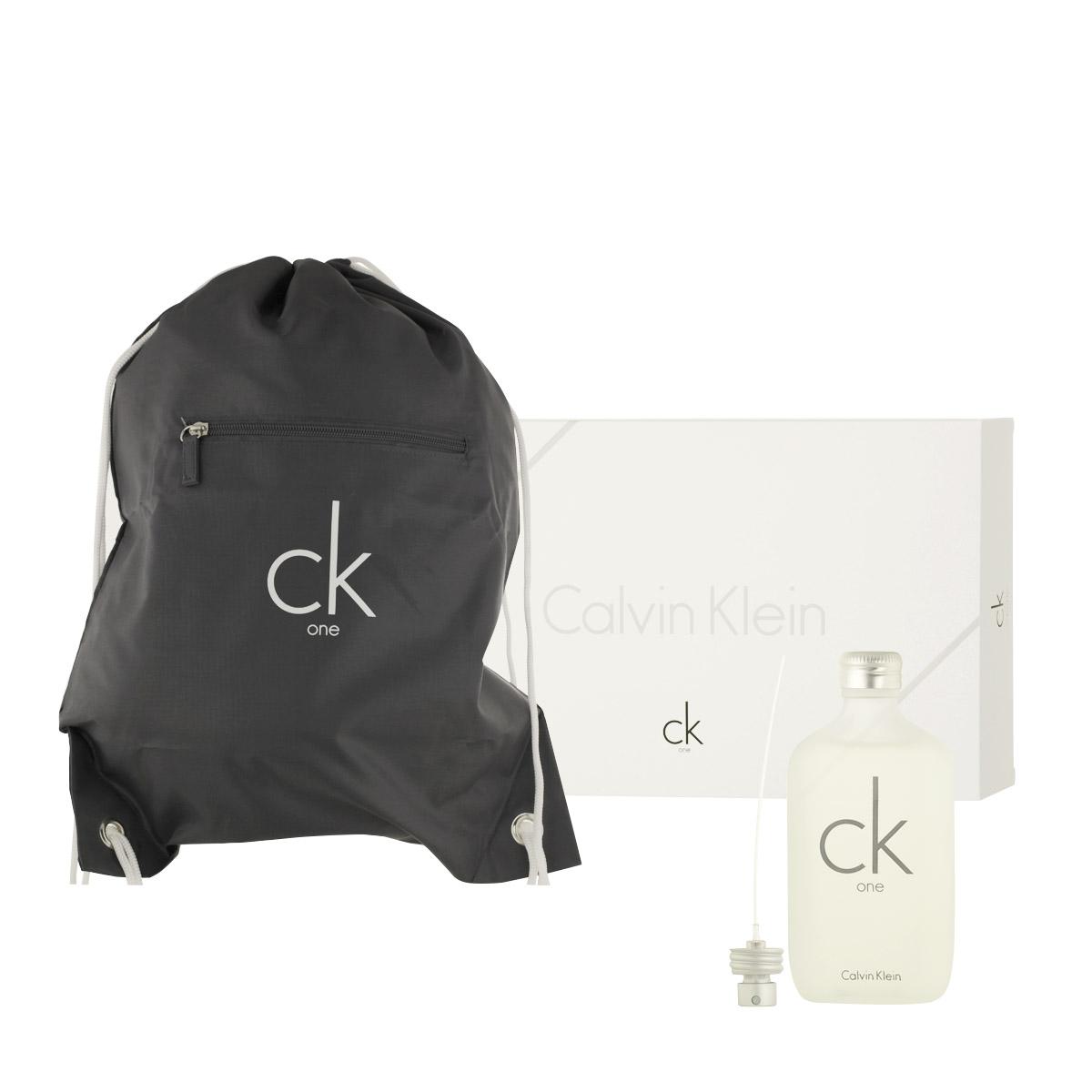 Calvin Klein CK One EDT 100 ml + vak na záda UNISEX