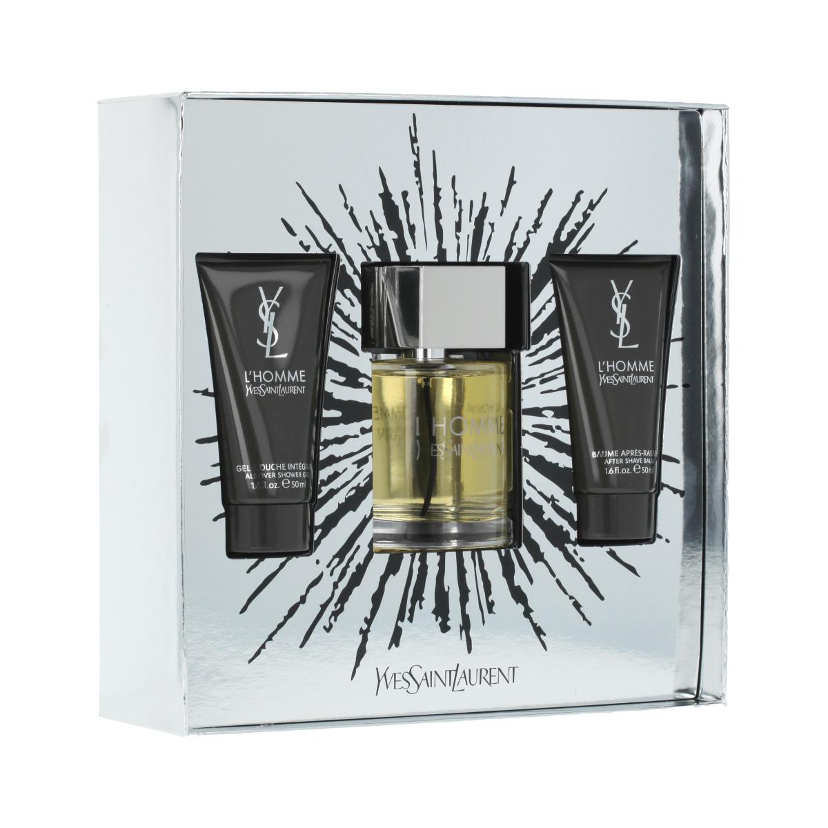 Yves Saint Laurent L'Homme EDT 100 ml + ASB 50 ml + SG 50 ml M