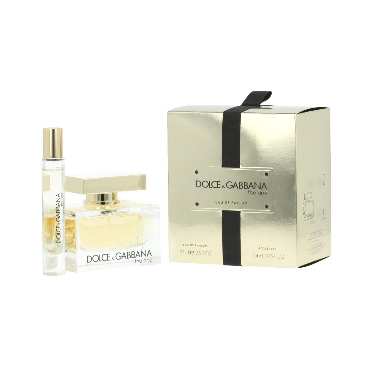 Dolce & Gabbana The One EDP 75 ml + EDP MINI 7,4 ml W