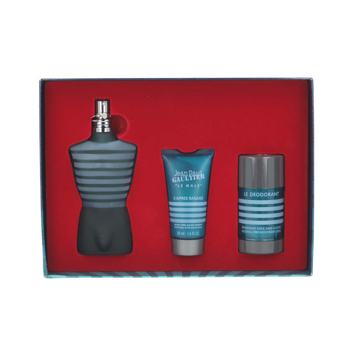 Jean Paul Gaultier Le Male EDT 125 ml + ASB 50 ml + DST 75 g M