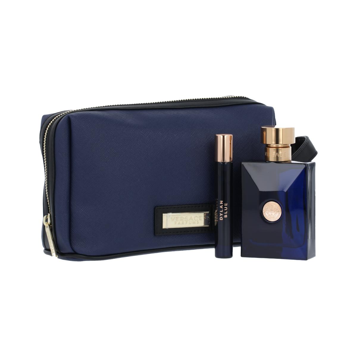 Versace Pour Homme Dylan Blue EDT 100 ml + EDT MINI 10 ml + kosmetická taška M