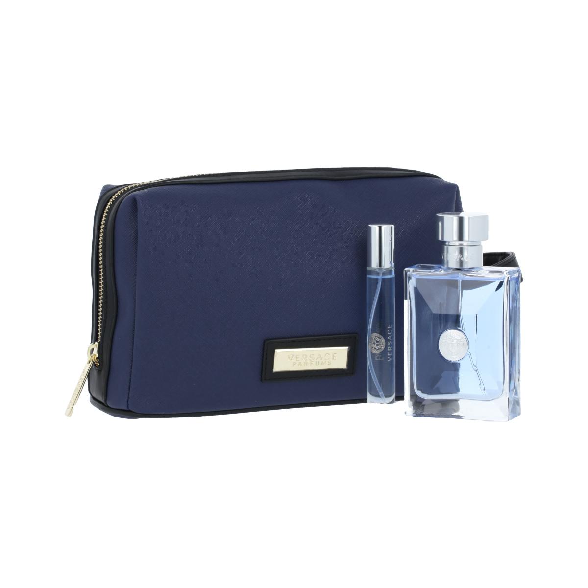 Versace Pour Homme EDT 100 ml + EDT MINI 10 ml + kosmetická taška M