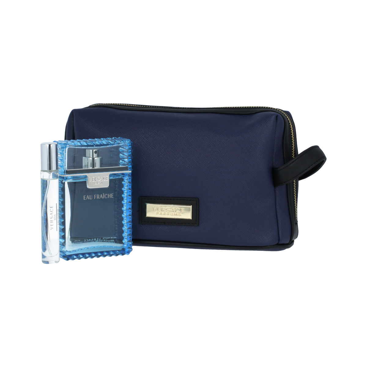 Versace Man Eau Fraîche EDT 100 ml + EDT MINI 10 ml + kosmetická taška M