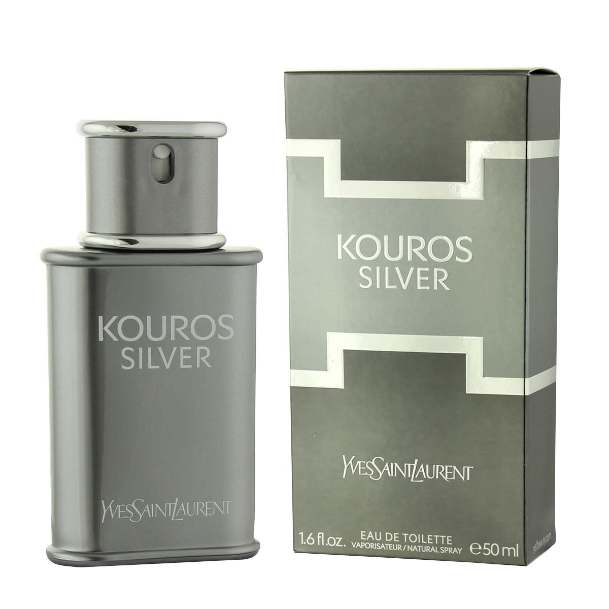 76a9aed396 Yves Saint Laurent Kouros Silver EDT 50 ml M - Kouros Silver - Yves ...
