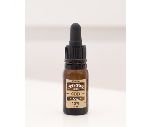 Francesco's Goods 10% CBD olej 10 ml