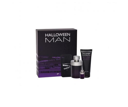 Jesus del Pozo Halloween MAN EDT 125 ml + EDT MINI 4 ml + SG 100 ml + obal pro IPhone M