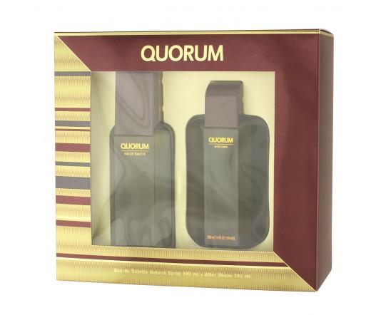 Antonio Puig Quorum EDT 100 ml + AS 100 ml M