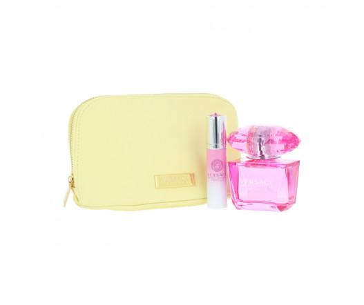 Versace Bright Crystal Absolu EDP 90 ml + EDP MINI 10 ml + kosmetická taška W