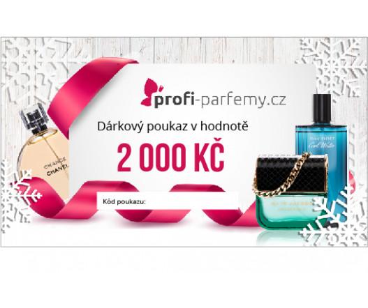 Voucher 2000 Kč