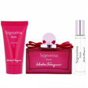 Salvatore Ferragamo Signorina Ribelle EDP 100 ml + EDP MINI 10 ml + BL 50 ml W