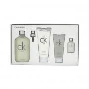Calvin Klein CK One EDT 200 ml + EDT 15 ml + SG 100 ml + BL 200 ml UNISEX