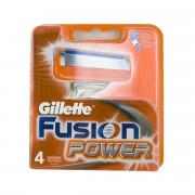 Gillette Fusion Power náhradní břity na holení 4 ks