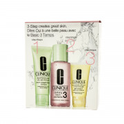 Clinique 3-Step Skin Care System 3 (Combination Oily to Oily Skin) 180 ml