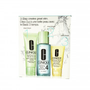 Clinique 3-Step Skin Care System 4 (Combination Oily to Oily Skin) 180 ml