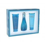Davidoff Cool Water for Women EDT 100 ml + SG 75 ml + BL 75 ml W