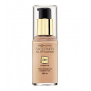 Max Factor All Day Flawless 3 in 1 Facefinity Foundation Make-Up SPF 20 30 ml
