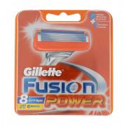 Gillette Fusion Power náhradní břity na holení 8 ks